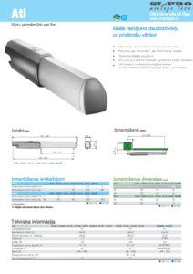 CAME ATI tehniska informācija