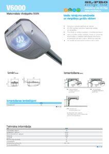 CAME V tehniska informācija